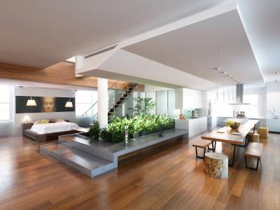 intrieur larchitecte est en mesure dassurer la cohrencedes espaces de vie ou de travail avec les activits de lhomme